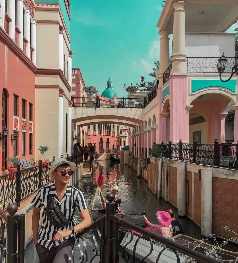 Little Venice Kota Bunga tempat wisata di bogor 2