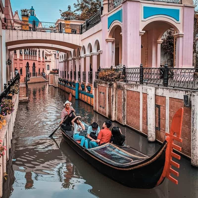 Little Venice Kota Bunga tempat wisata di bogor