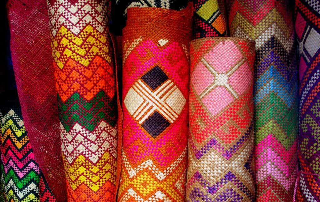 oleh oleh khas filipina banig mats