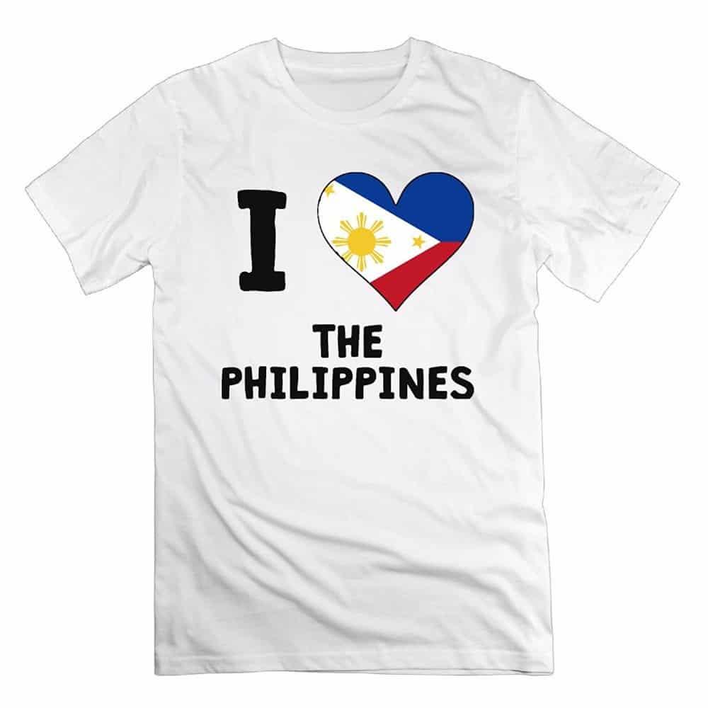 oleh oleh khas filipina kaos i love philippines
