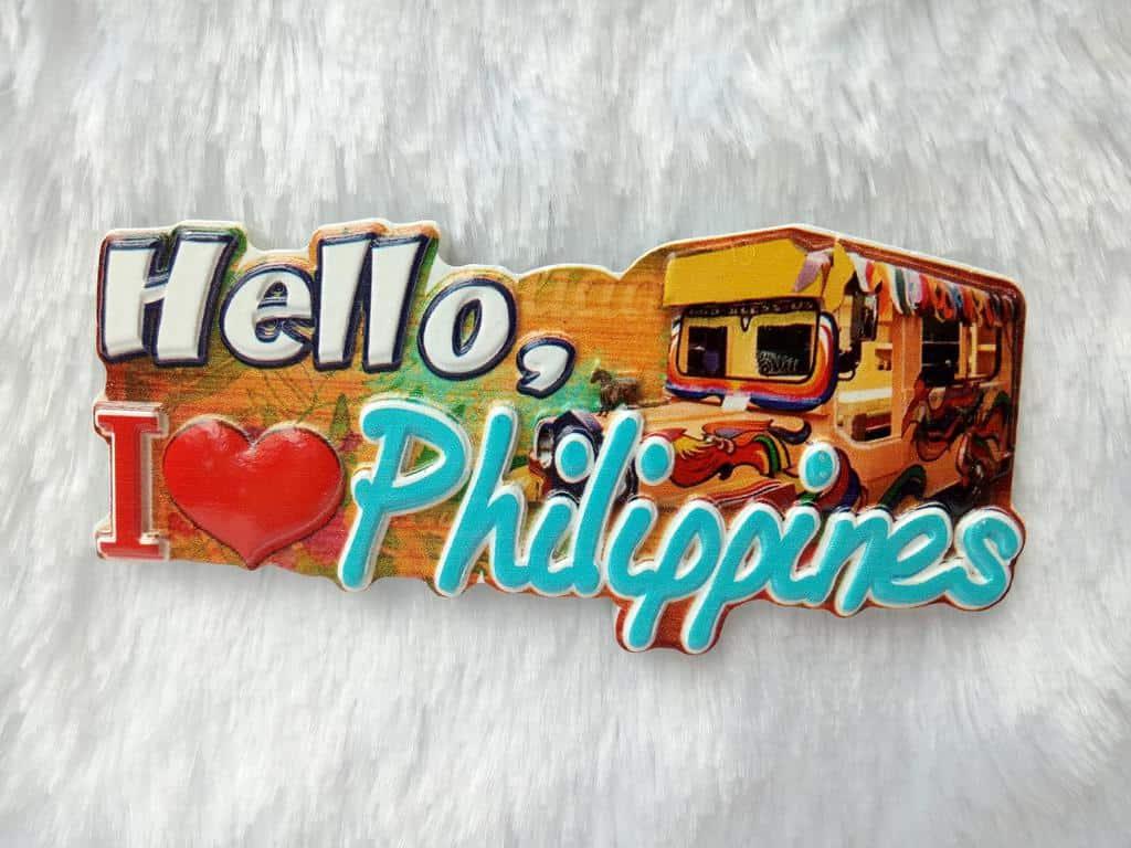 oleh oleh khas filipina tempelan kulkas