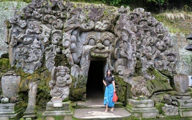 tempat wisata di bali Goa Gajah