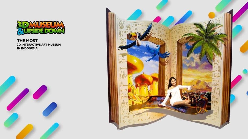 tempat wisata di bali I AM Bali 3D Interactive Art Museum