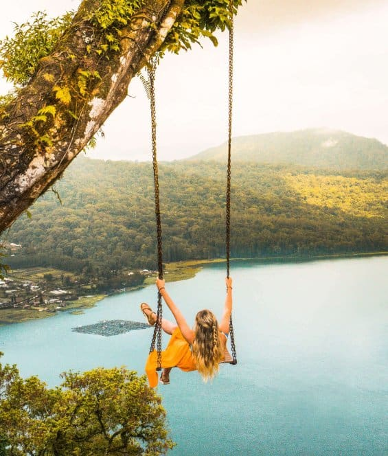 tempat wisata di bali Puncak Danau Buyan Wanagiri