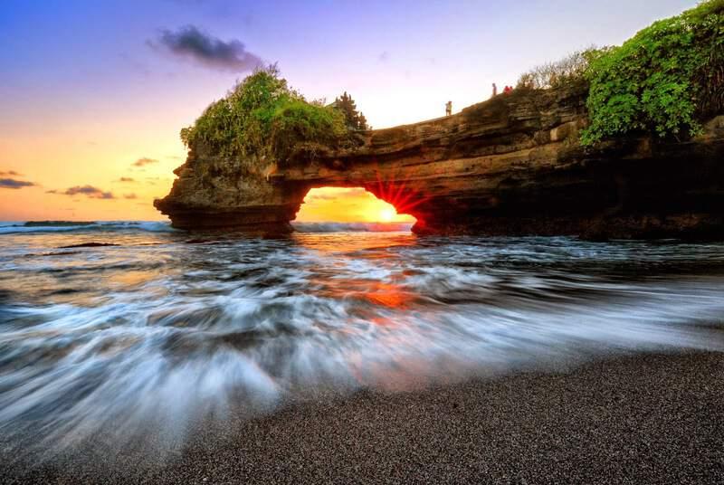 tempat wisata di banten Pantai Karang Bolong
