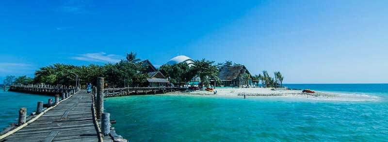 tempat wisata di banten Pulau Umang