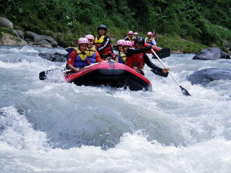 tempat wisata di banten Sungai Ciberang