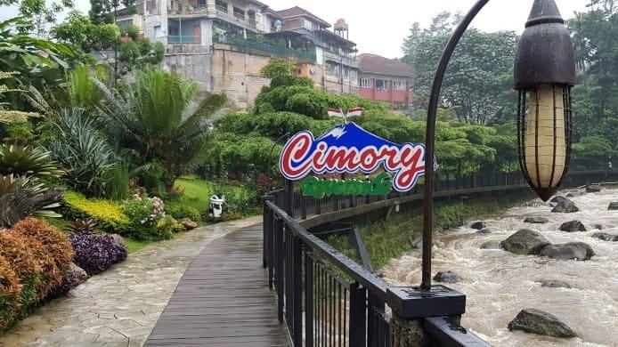 tempat wisata di bogor Cimory Riverside
