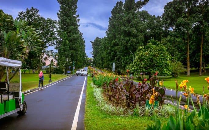 tempat wisata di bogor Kebun Raya Bogor