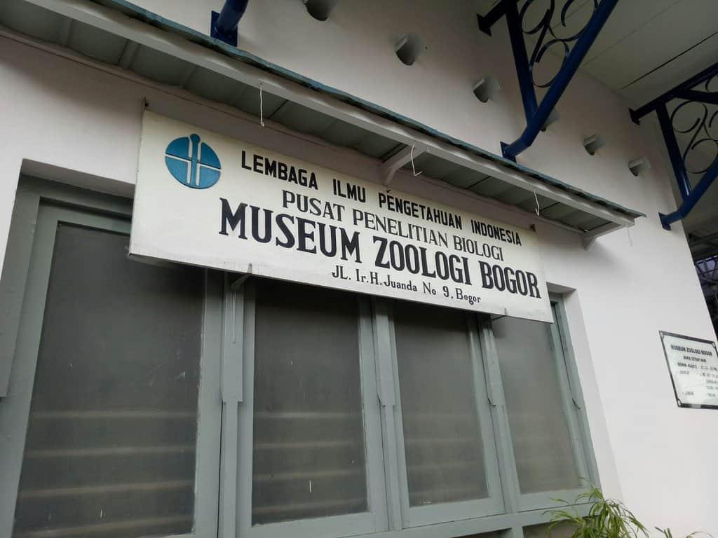 tempat wisata di bogor Museum Zoologi 2