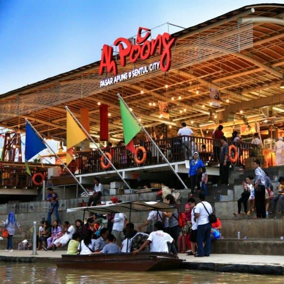 tempat wisata di bogor Pasar Ah Poong