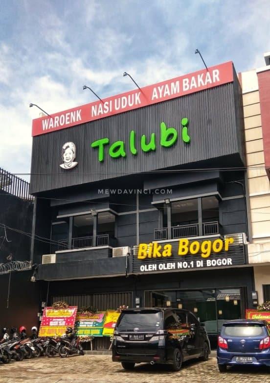 tempat wisata di bogor Waroenk Talubi