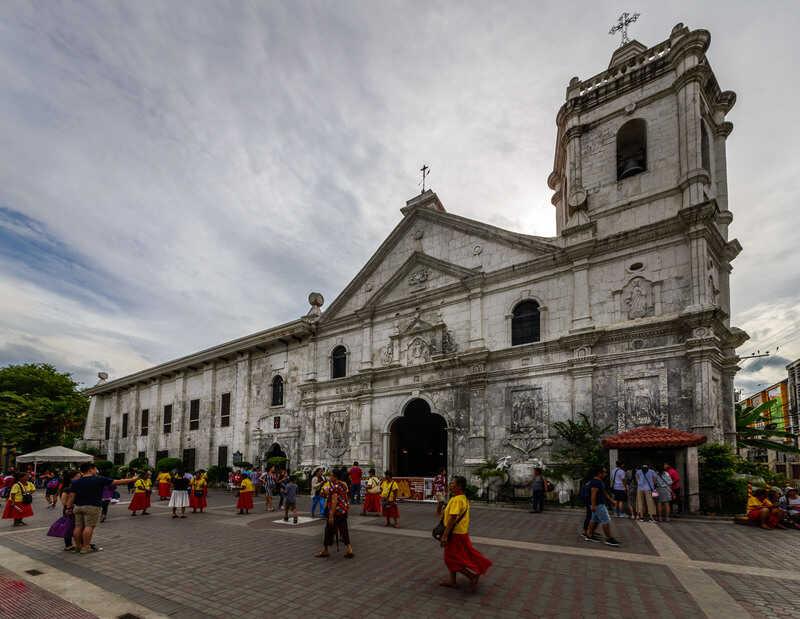 tempat wisata di filipina Basilica del Santo Nino