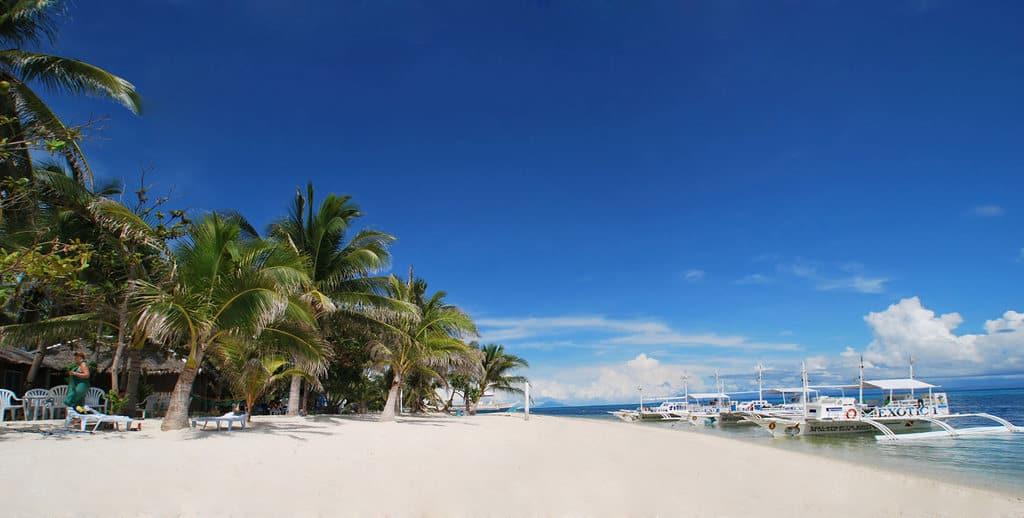 tempat wisata di filipina Malapascua Island