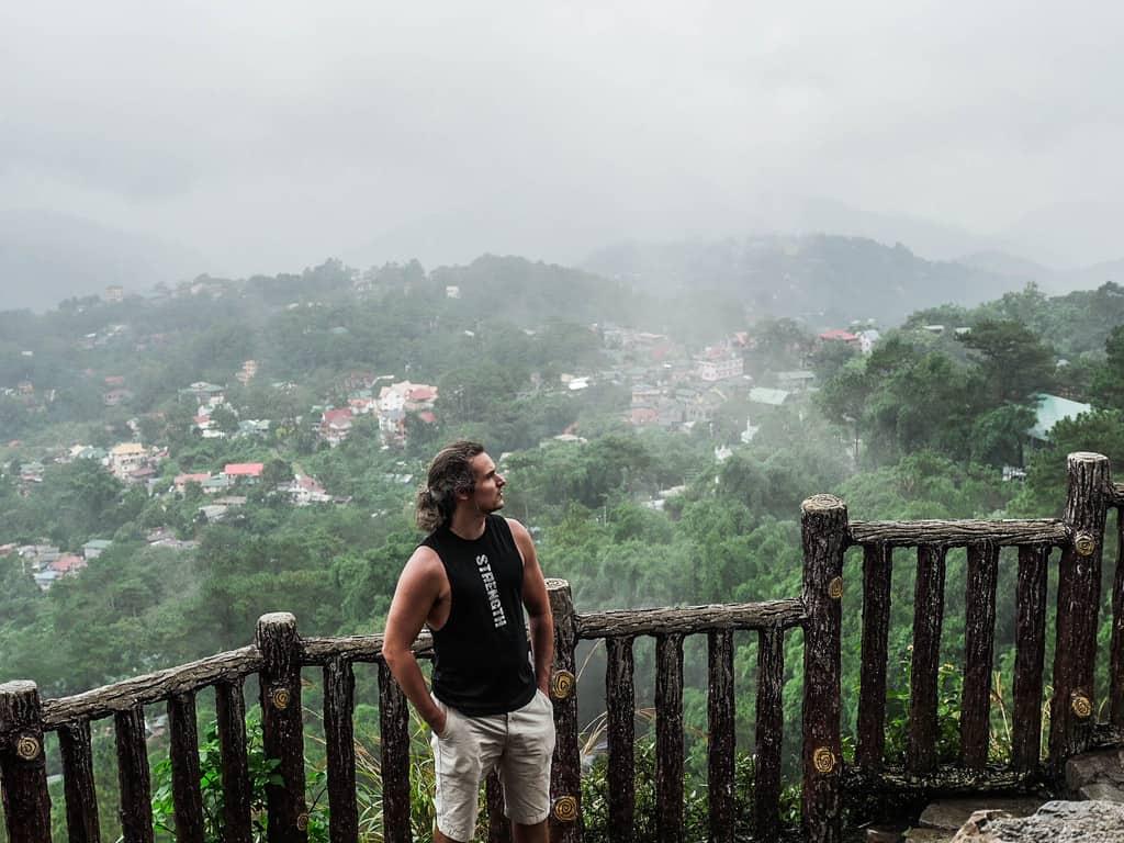 tempat wisata di filipina Mines View Park