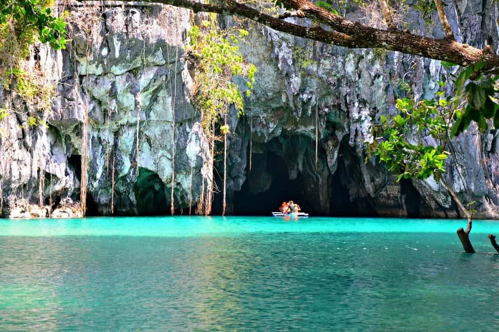 tempat wisata di filipina Puerto Princesa Subterranean River National Park