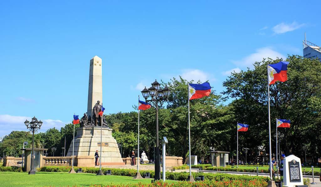 tempat wisata di filipina Rizal Park