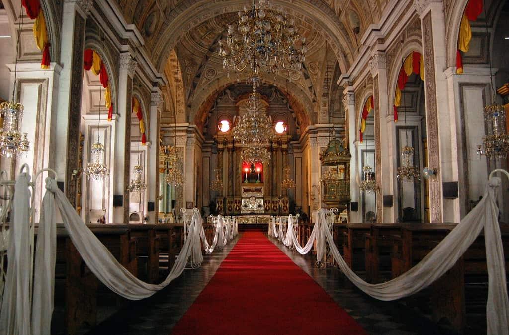 tempat wisata di filipina San Agustin Church