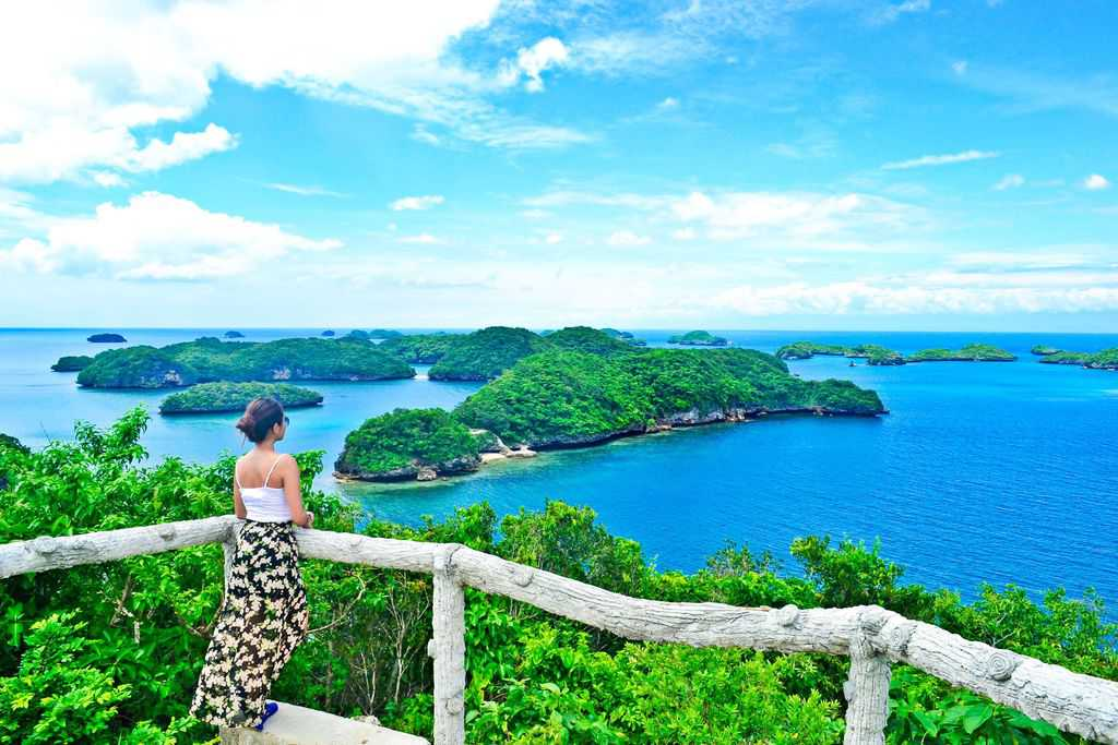 tempat wisata di filipina The Hundred Islands National Park