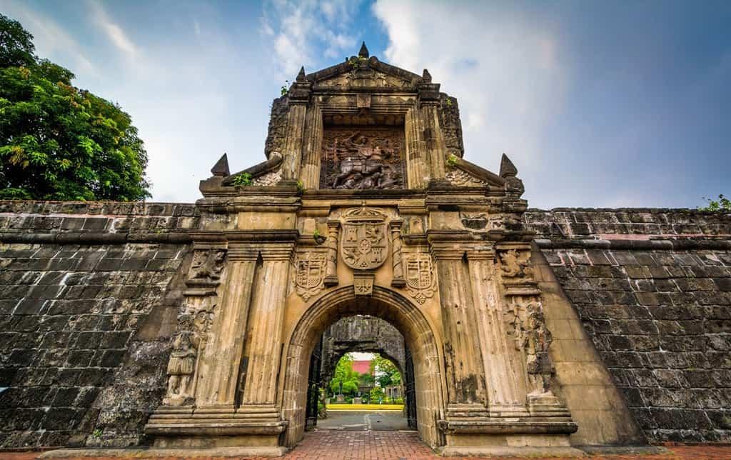 tempat wisata di filipina fort santiago