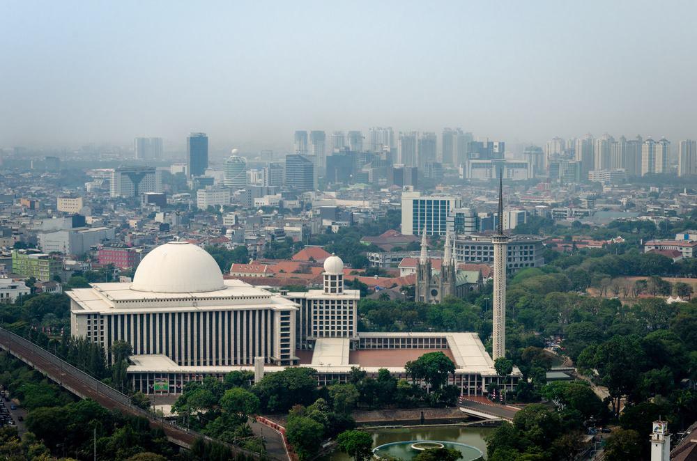tempat wisata di jakarta mesjid istiqlal