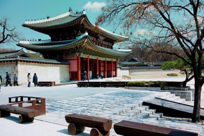 tempat wisata di korea Changdeokgung Palace