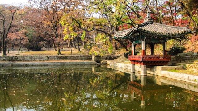 tempat wisata di korea huwon garden