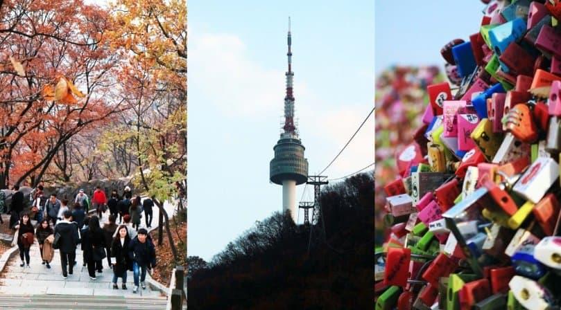 tempat wisata di korea selatan Namsan Seoul Tower