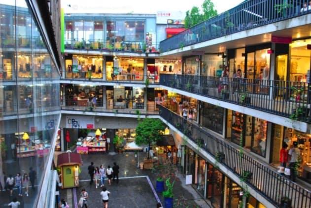 tempat wisata di korea selatan ssamzigil
