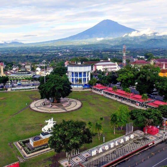 tempat wisata di magelang Alun Alun Kota Magelang