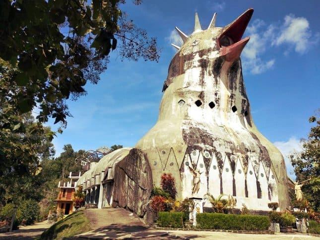 tempat wisata di magelang Gereja Ayam
