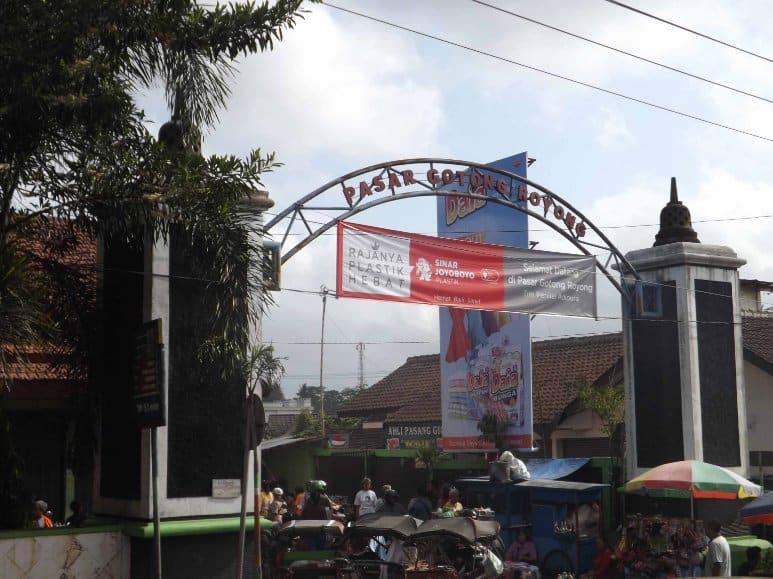 tempat wisata di magelang Pasar Gotong Royong
