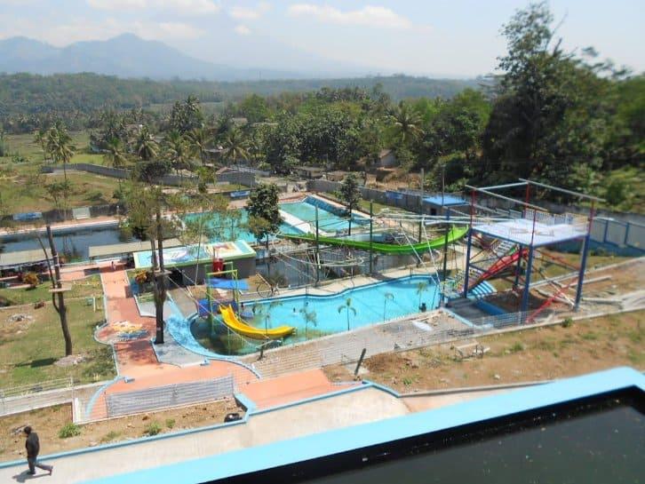 tempat wisata di magelang Pemandian Kalibening