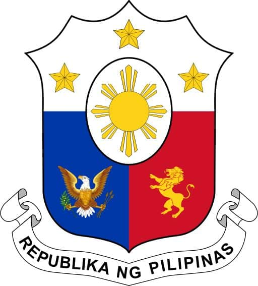lambang negara filipina the coat of arms