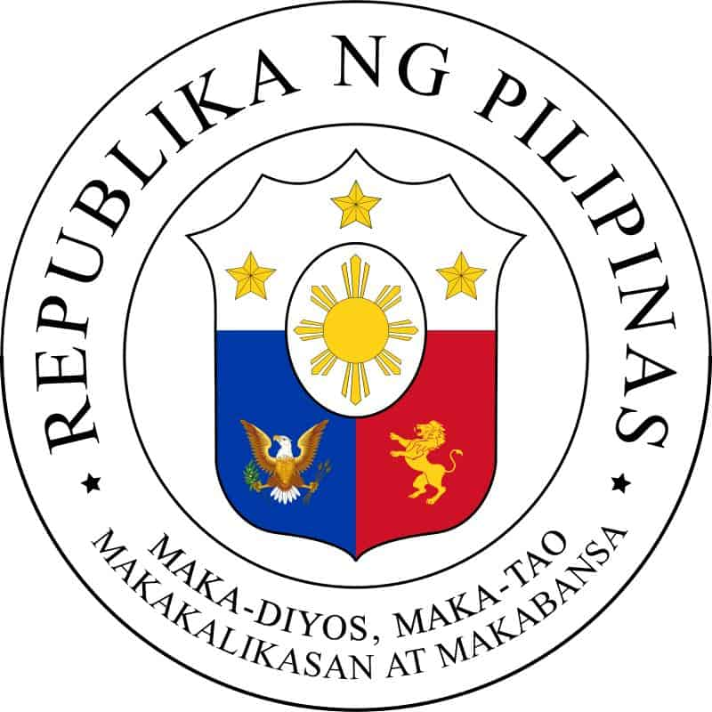 lambang negara filipina the great seal philippines