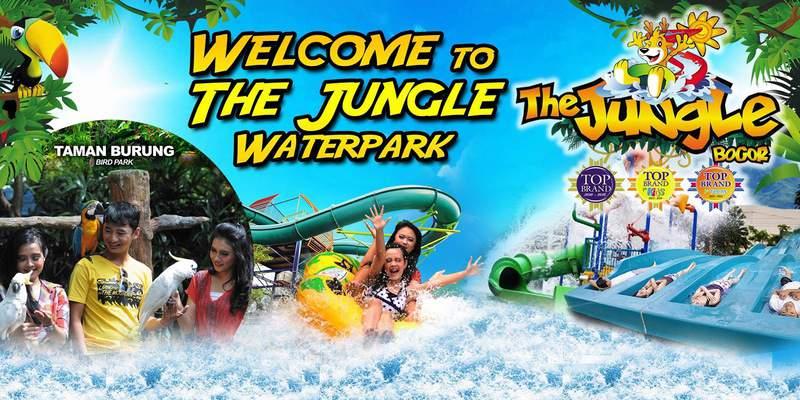 the jungle waterpark tempat wisata di bogor