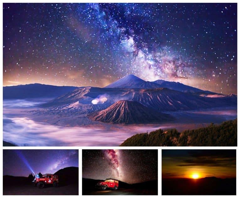 wisata gunung bromo Milky Way Bromo