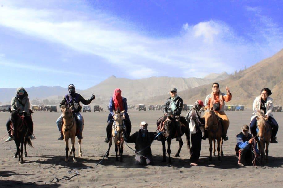 wisata gunung bromo Wisata Berkuda