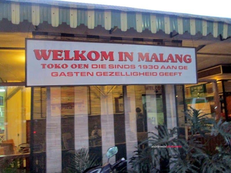 wisata malang Toko Oen Malang