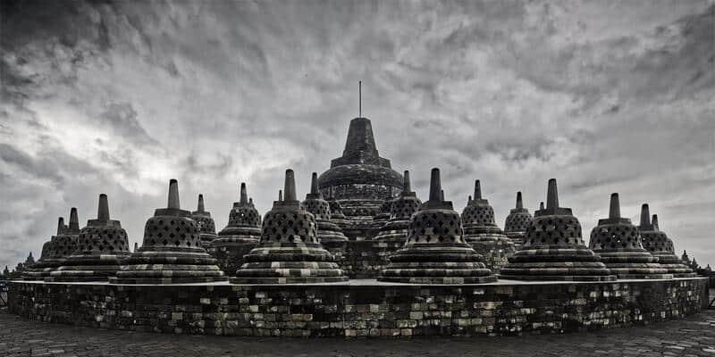 gambar pemandangan indah Candi Borobudur