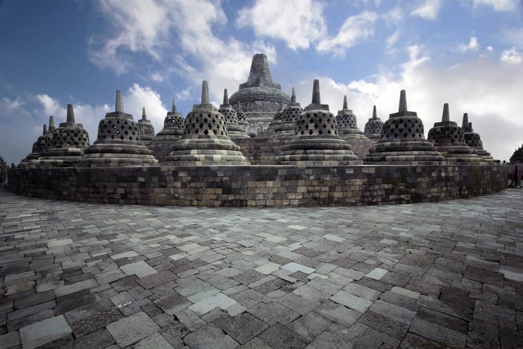 gambar pemandangan indah Candi Borobudur 2