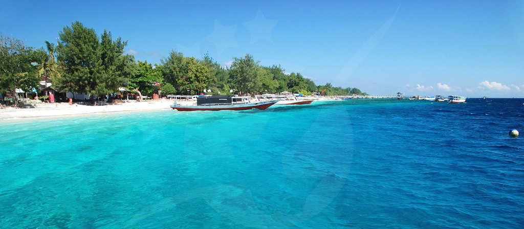 gambar pemandangan indah Lombok