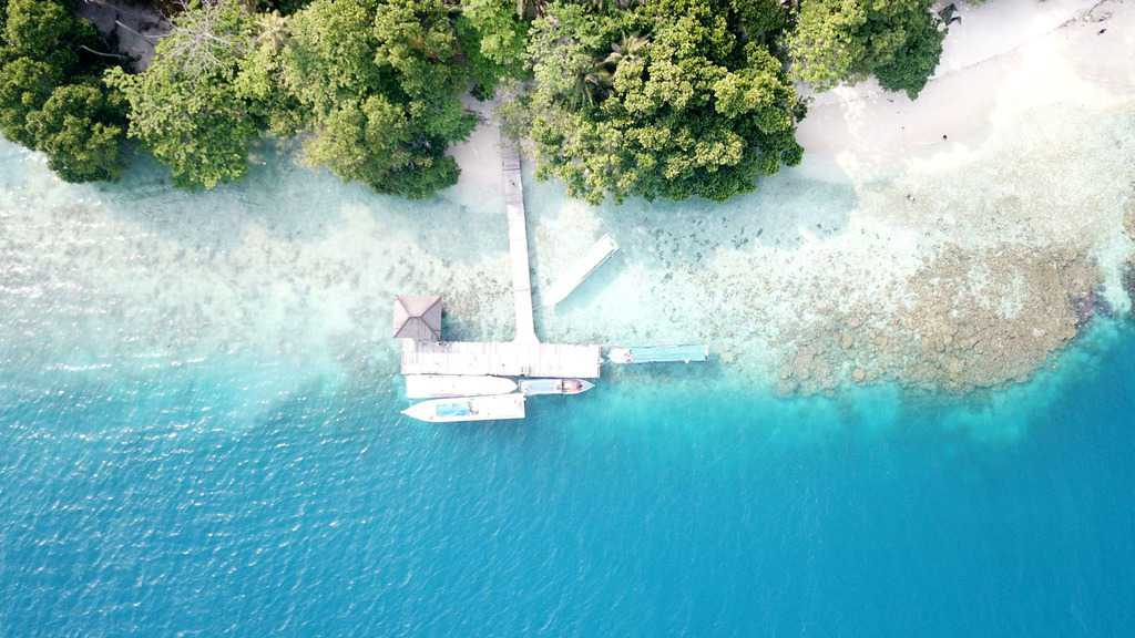 gambar pemandangan indah pulau seribu 2