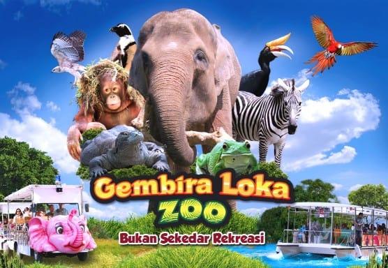 tempat wisata di jogja Kebun Binatang Gembira Loka
