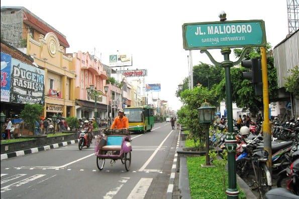 tempat wisata di jogja Malioboro