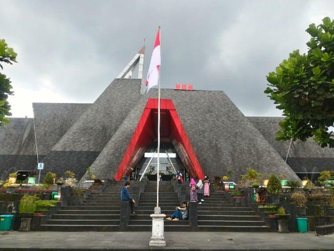 tempat wisata di jogja Museum Gunung Merapi