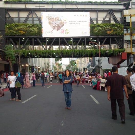 tempat wisata di surabaya Taman Gantung Surabaya