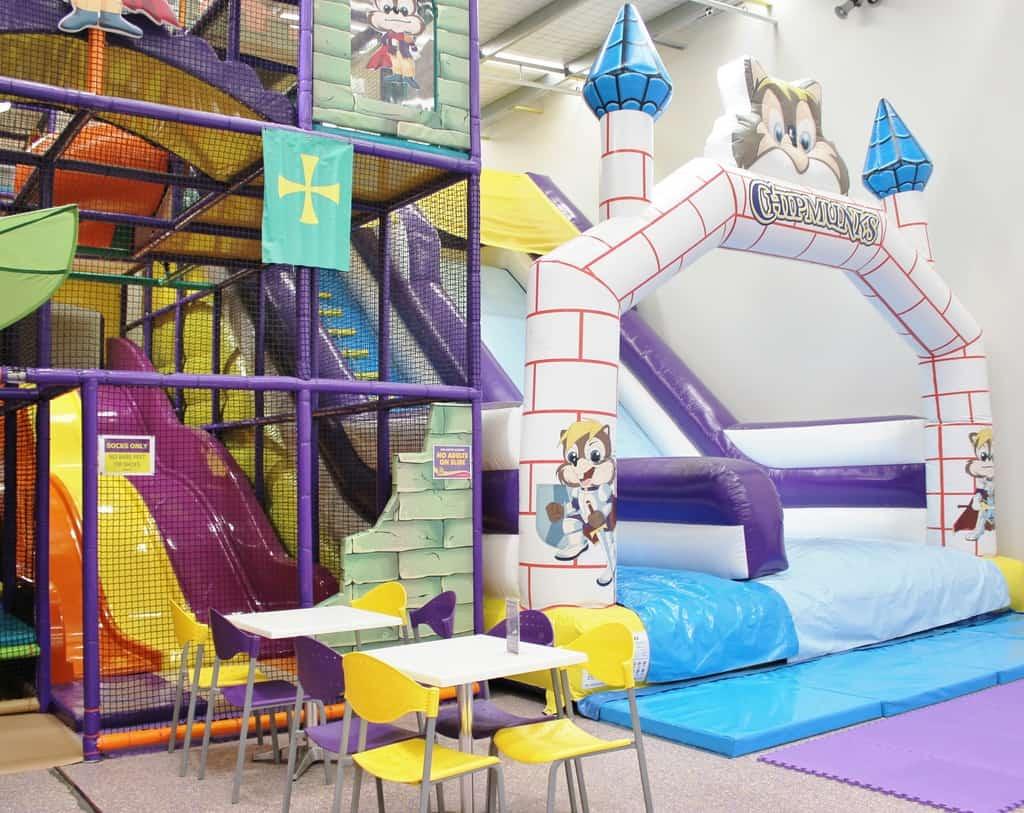 Chipmunks Playland and Cafe tempat taman bermain anak di jakarta