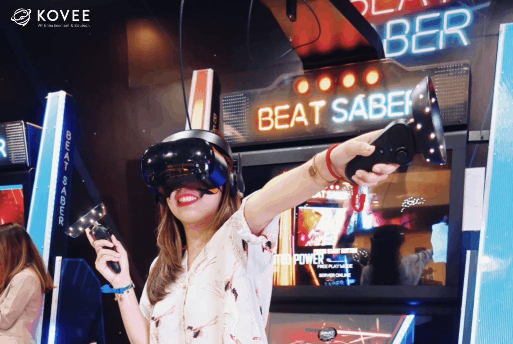 Kovee VR Theme Park tempat taman bermain anak di jakarta