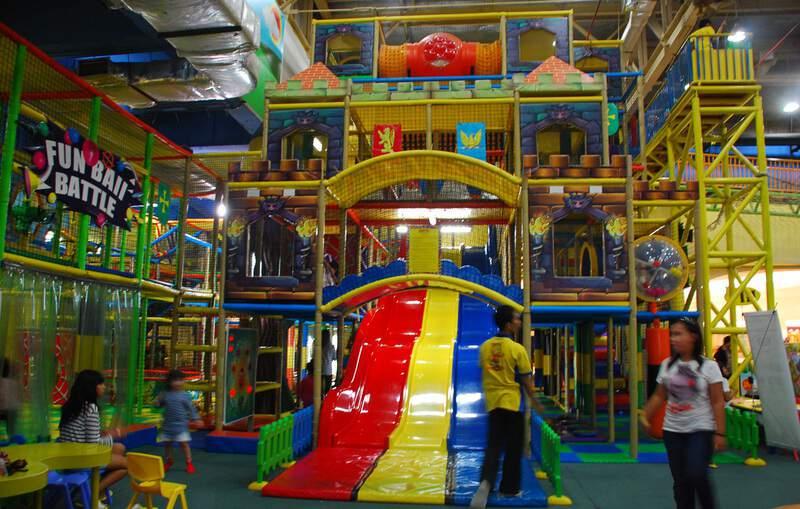 Lollipop's Playland jakarta taman bermain anak